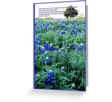 Let The Earth Bring Forth Grass. . . Greeting Card