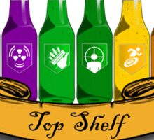 Top shelf Sticker