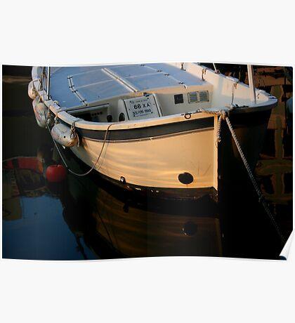 Italian Fishing Boat Poster