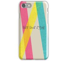 Once Upon A Time - Darren Criss (Listen Up Tour) iPhone Case/Skin