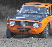 Alfa Romeo Giulia Sprint GTV Rally Car by Thomas Gelder