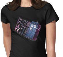 TARDIS T-SHIRT A Womens Fitted T-Shirt