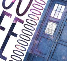 TARDIS T-SHIRT A Sticker
