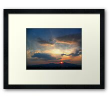 ©HCS 8 minutes 19 seconds Framed Print