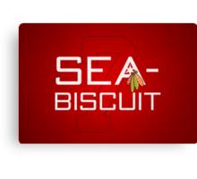Sea-Biscuit Canvas Print