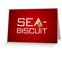 Sea-Biscuit Greeting Card