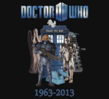 Dr Who 50th Anniversary by Marjuned