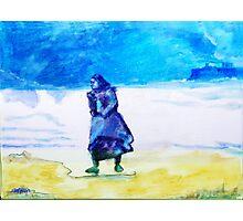 Winter Tide Walker Photographic Print