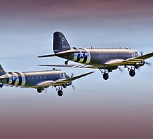 DC3 Take Off  -  !  Duxford 26.05.2013 by Colin J Williams Photography
