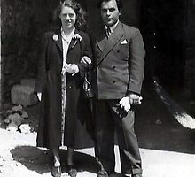 Kathleen Mary Guibal & Jean Pierre Bartiste Guibal by Baron Guibal J P PhD Dip