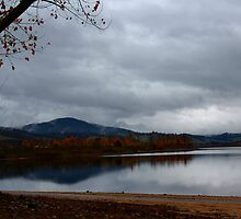 Lake at Khancoban in Victoria Australia by Sandy1949
