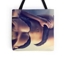 Sexy Woman in Lingerie Tote Bag