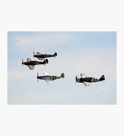 Eagle Squadron Tribute Formation Photographic Print