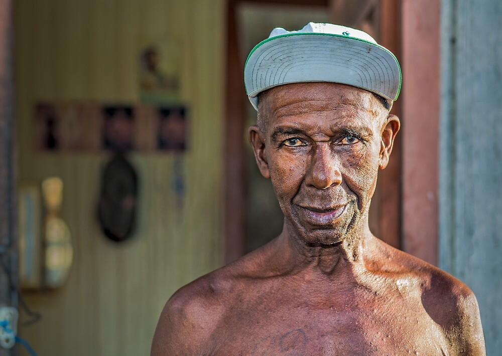 Caribbean, Choiseul, fishermen, Fishing Village, St Lucia by Heather Buckley