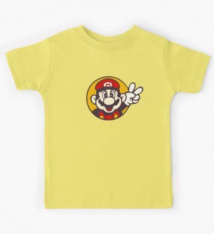 Mario Peace Kids Tee