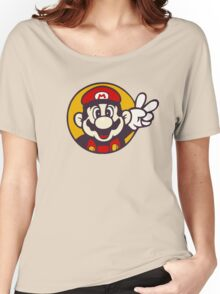 Mario Peace Women's Relaxed Fit T-Shirt
