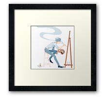 Artist! Sherlock 1 Framed Print