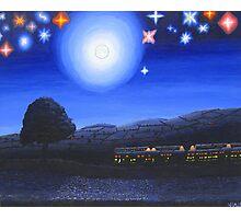 Imaginary Starry Night Photographic Print