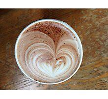 Hot Chocolart Photographic Print