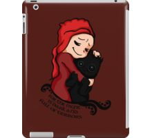 For the night is dark... iPad Case/Skin