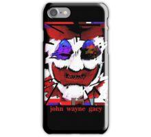 John Wayne Gacy Art iPhone Case/Skin