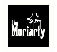 Jim Moriarty (Sherlock) Art Print