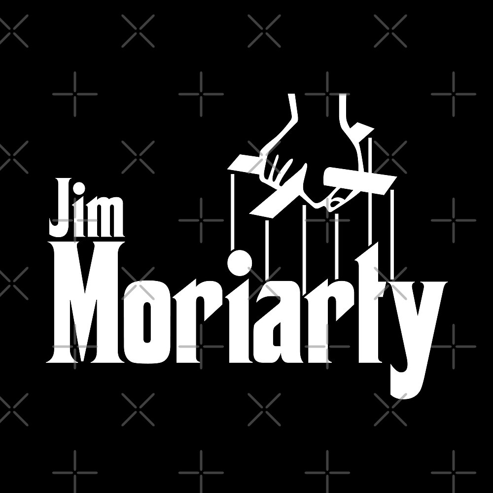 Jim Moriarty (Sherlock) by huckblade