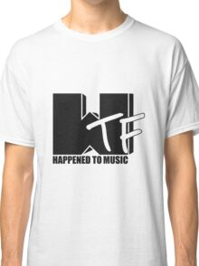 WTF Happened? solid Classic T-Shirt