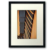 Opera House Materials Framed Print