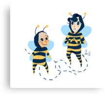 Bee! Johnlock Canvas Print