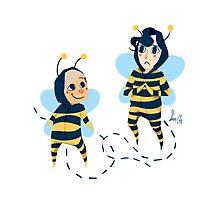 Bee! Johnlock Photographic Print
