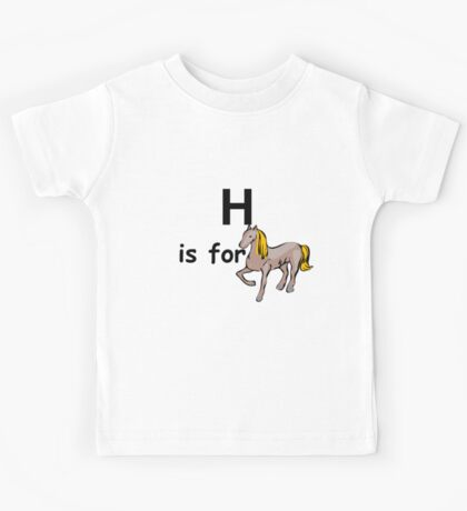 H is for ...V2 Kids Tee