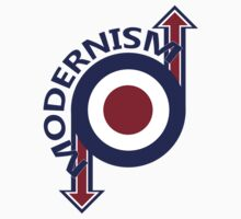 Modernism mod target and arrows by Auslandesign