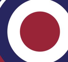 Modernism mod target and arrows Sticker