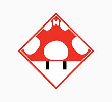 Red Mario Mushroom Shipping Placard Unisex T-Shirt
