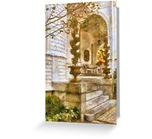 Charleston Porch - Lowcountry Comfortable Greeting Card
