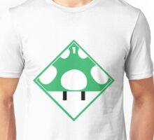 1up Mushroom Shipping Placard Unisex T-Shirt