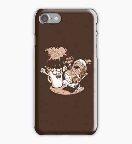 Dr. Caffeinstein's Monster iPhone Case/Skin