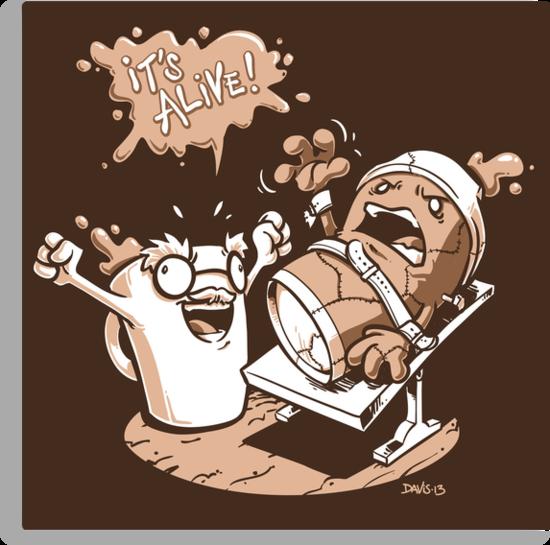 Dr. Caffeinstein's Monster by Nathan Davis