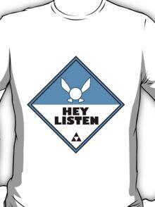 Navi Zelda Shipping Placard T-Shirt