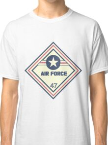 US Air Force Shipping Placard Classic T-Shirt