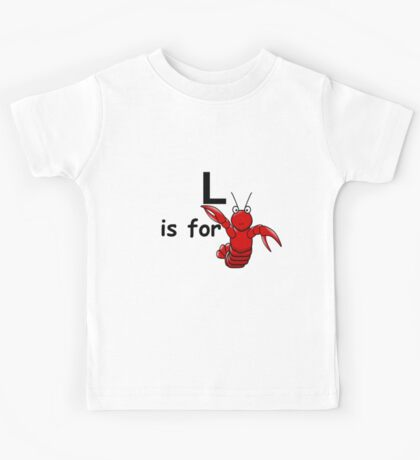 L is for ...V4 Kids Tee