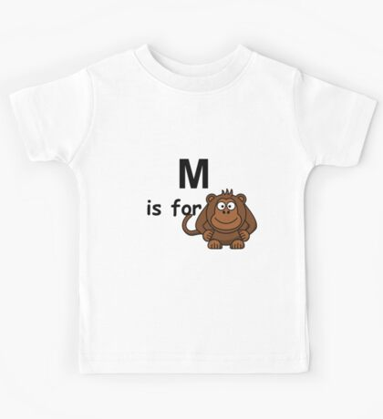 M is for..V2 Kids Tee