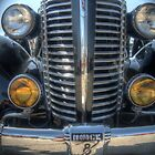 Front Grill Of a Hot Rod by David Shayani