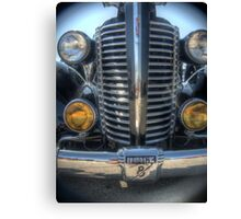 Front Grill Of a Hot Rod Canvas Print
