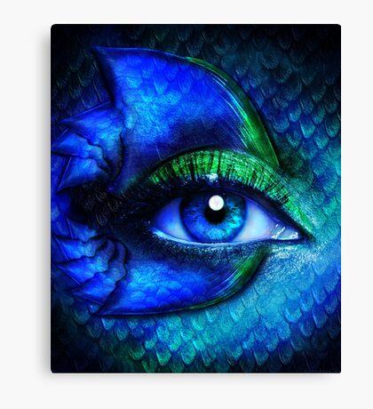 Mermaid Stare Canvas Print