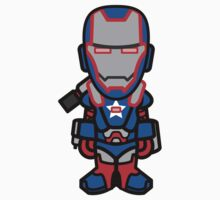 Iron Patriot by dvdcartoonz