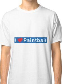 I Love Paintball Classic T-Shirt