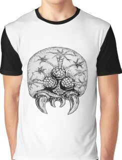 Metroid traditional Ink'd Graphic T-Shirt