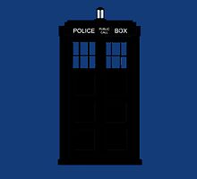 Doctor Who Tardis Minimal by MeepAndMushrat